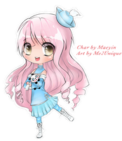 Chibi Commission for Maeyin by Me2Unique