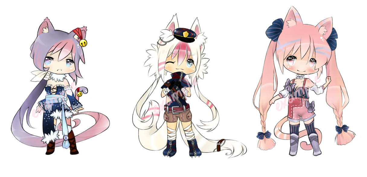 Kemonomimi Auction 4 [CLOSED] by Me2Unique