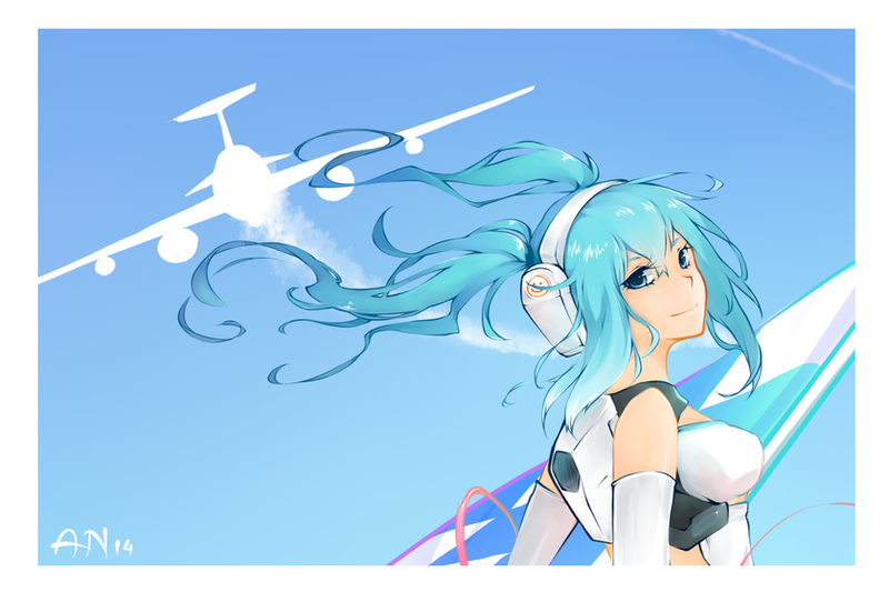 Miku Fanart by Me2Unique