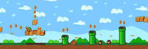 Pixel Art - Super Mario Remake