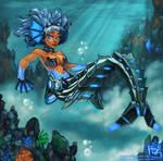Mecha-Mermaid