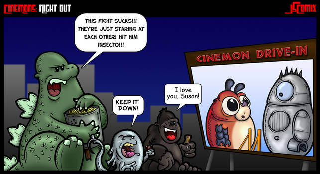 CineMons: Night Out by JSComix