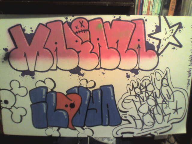 Graffitis que digan mariana , Imagui