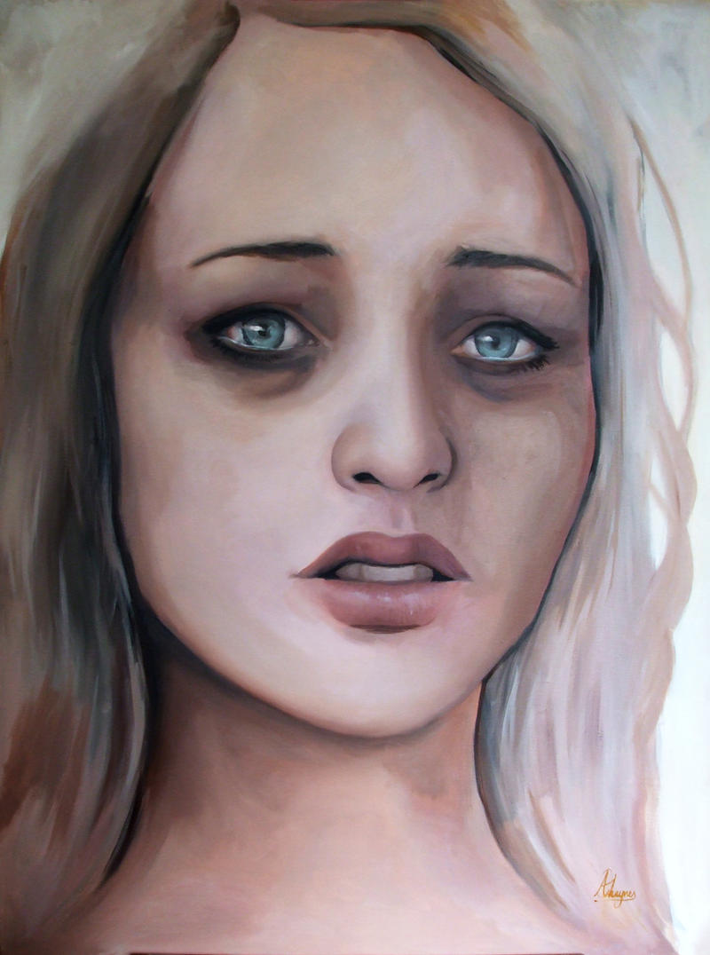 Weeping Lady by Alexandra-Haynes