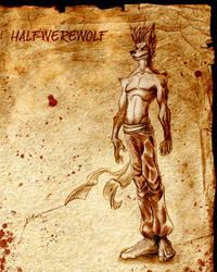 HALF WERE-WOLF by XimonR