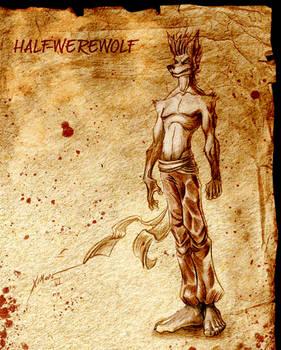 HALF WERE-WOLF