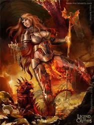 Lava Queen Regular by Blackfoxst