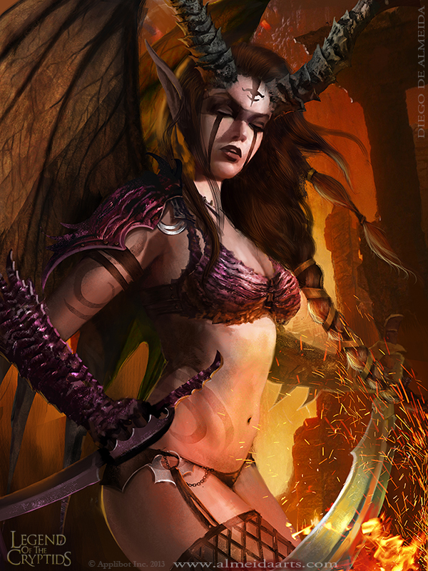 Enlightened Fallen Angel REG by Blackfoxst