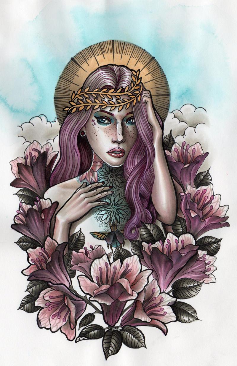 Azalea Girl by Rezurekted