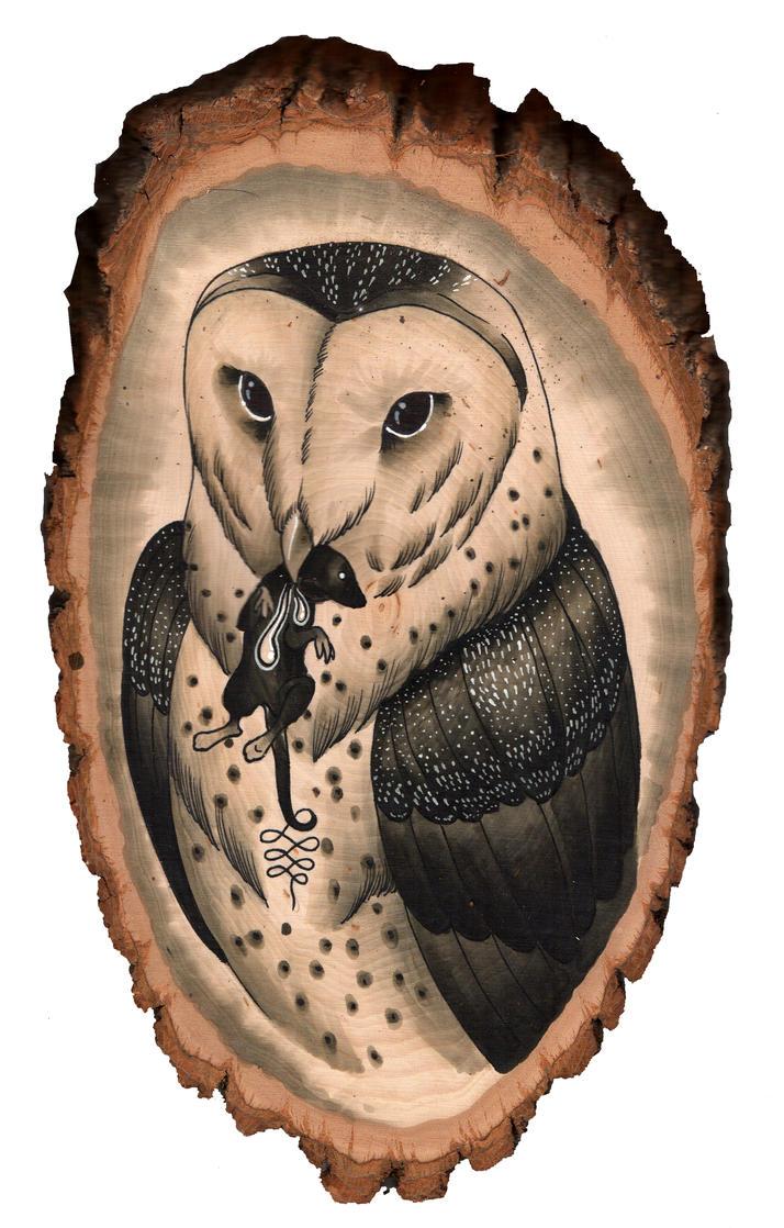 Owl by Rezurekted