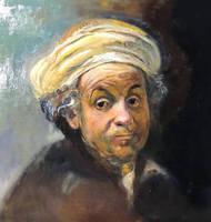 Rembrandt as St Paul  2018