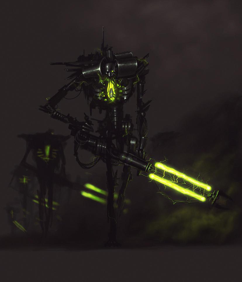 Necron by Obrotowy