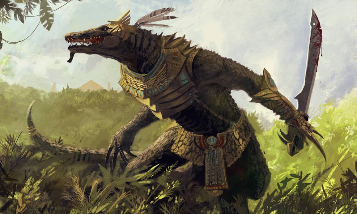 Lizardman by Obrotowy