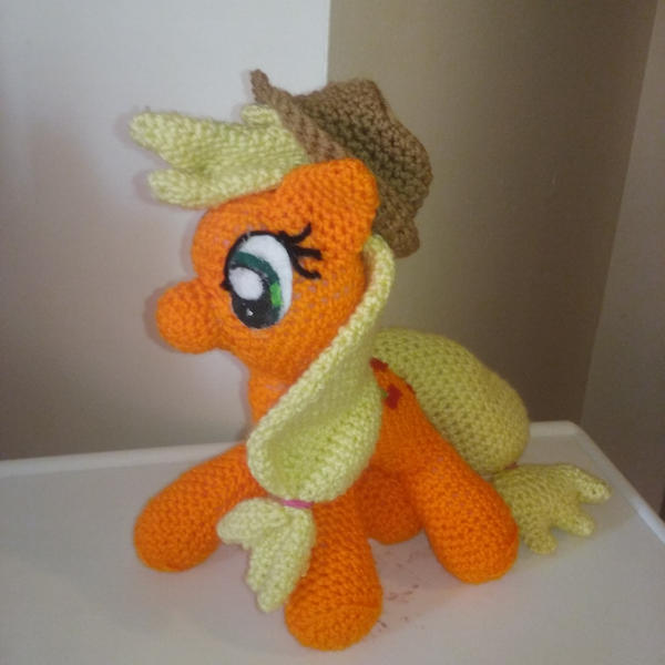 Amigurumi Pattern My Little Pony : Amigurumi My Little Pony AppleJack by crocheted on DeviantArt