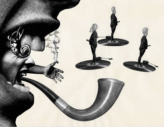 Smoking The Music Pipe by hrn