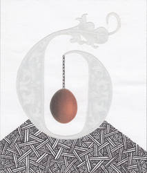 The Egg Inside the Letter by hrn