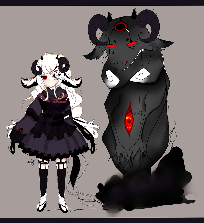 Shadow Monster - Manto by BlckMlk on DeviantArt  Shadow Monster ...