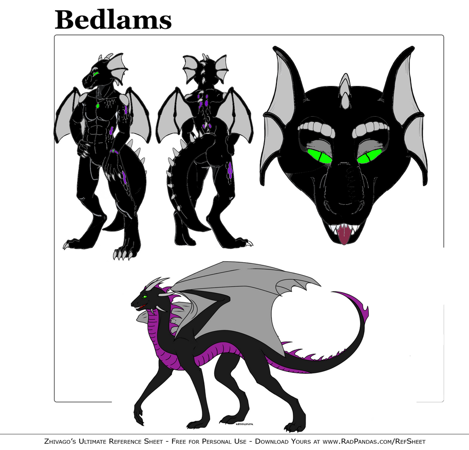 Ref. Sheet by Bedlams
