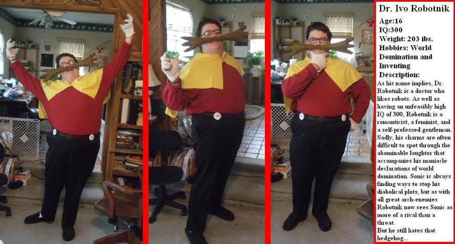 Dr. Ivo Robotnik costume by linkinspirit95
