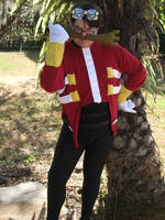 Dr. Eggman Cosplay 2 by linkinspirit95