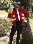 Dr. Eggman Cosplay 2