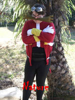 Dr. Eggman HATES nature... (Dr. Eggman Cosplay 3) by linkinspirit95
