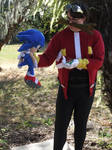 TAKE THAT SONIC!!! (Dr. Eggman Cosplay 7)