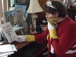 What's This? (Dr. Eggman Cosplay 8) by linkinspirit95