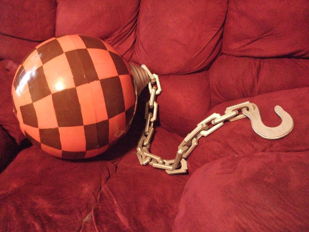 The Egg Wrecking Ball by linkinspirit95