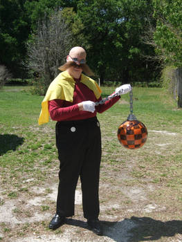 Dr. Robotnik wields the wrecking ball [COSPLAY]