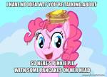 Pinkie Pie Pancakes