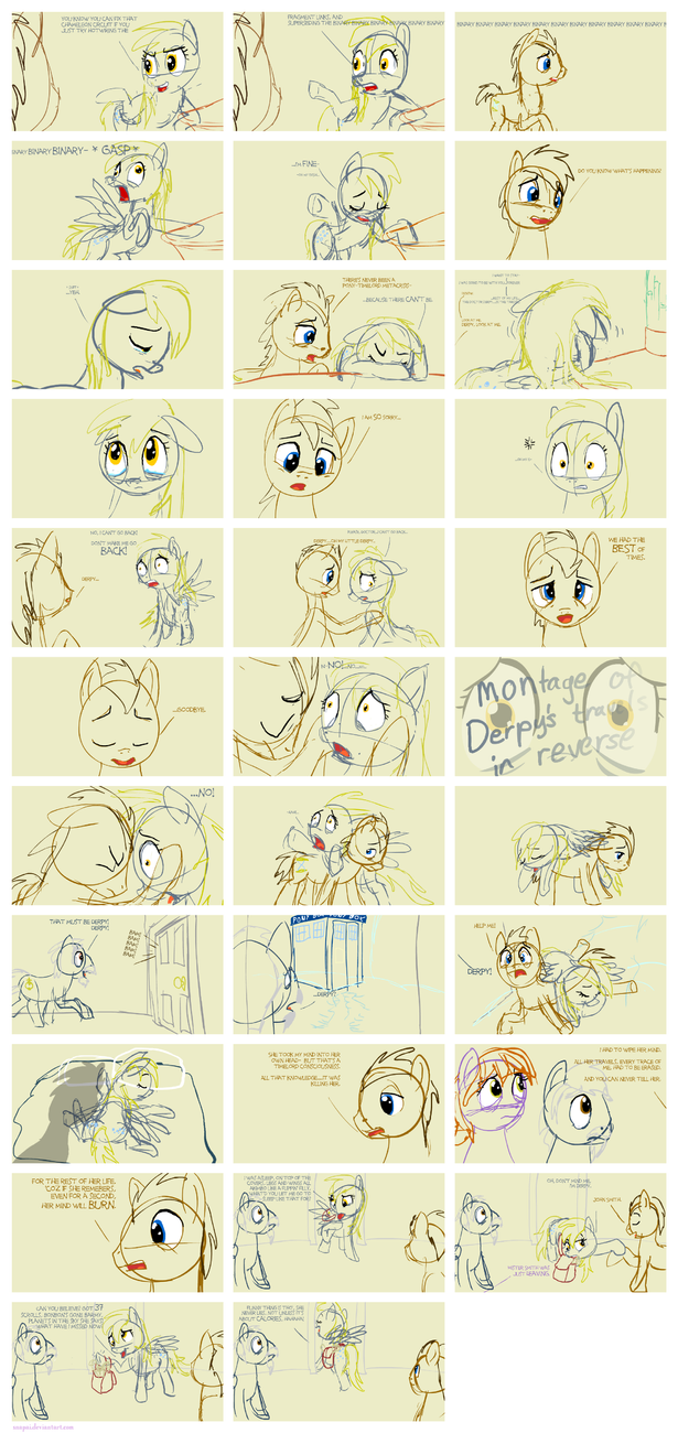Doodleboard - Derpy Noble by Snapai