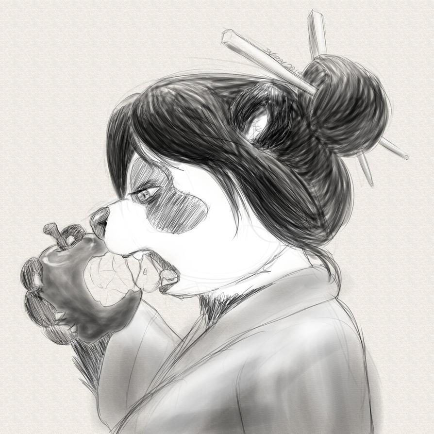 Pandapple by Snapai
