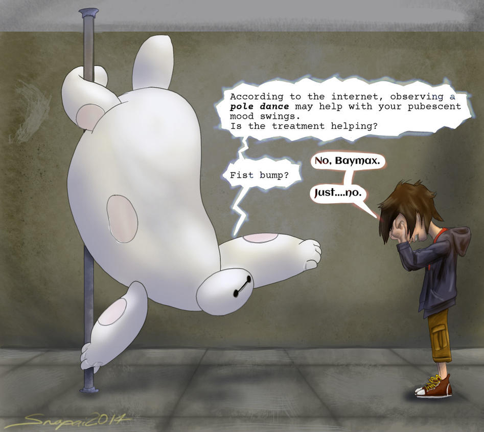 Baymax Dance by Snapai