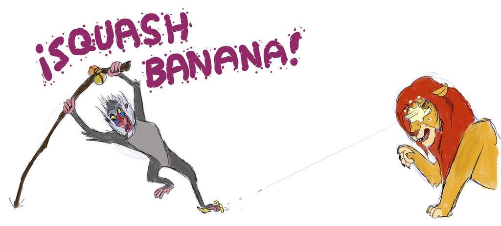 Squash Banana! by Snapai