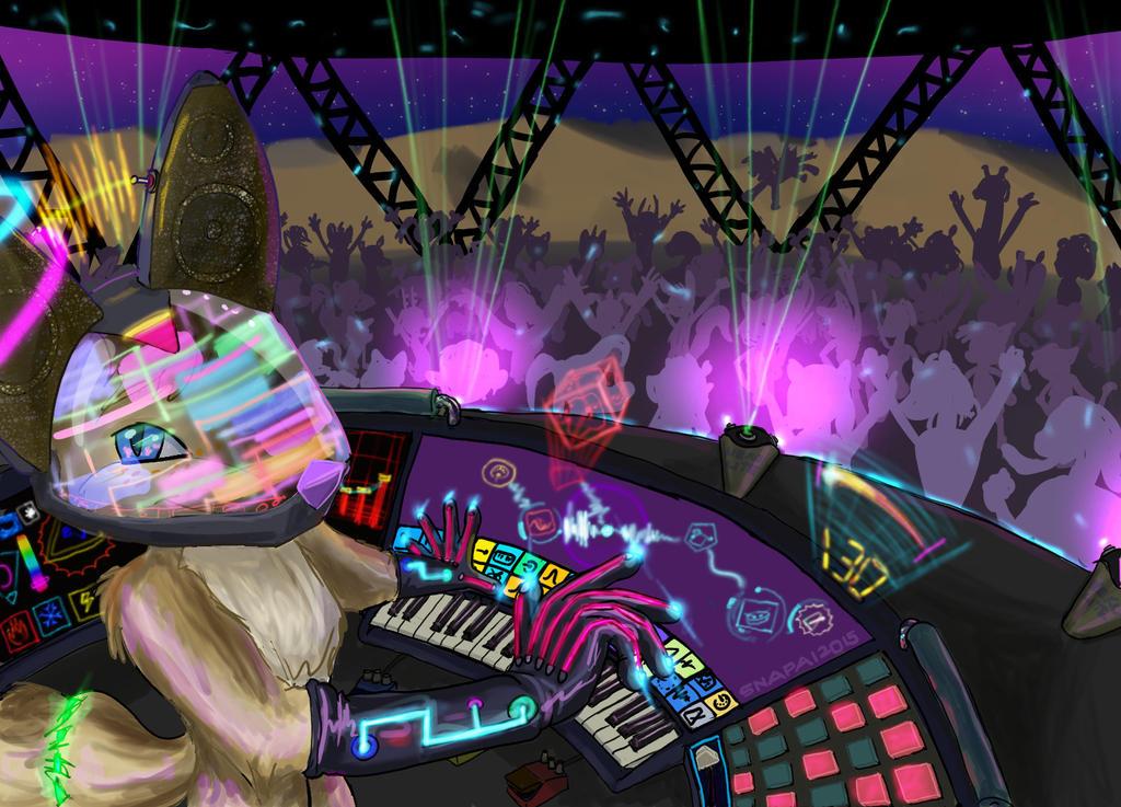 DJ Phantasia by Snapai