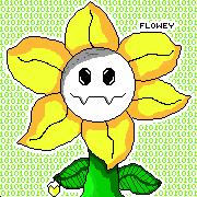 Flowey-pixilart by girlgamer7601