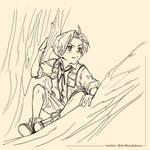 Rudeus Greyrat fan art by Ann-Shiki