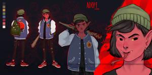 [OPEN] Auction: Demon boy by Sosiphia