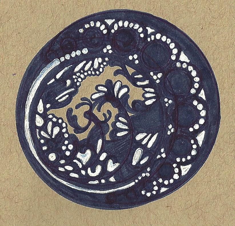 Bleu circle by kicat