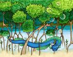 Mangrove nap by lordbatsy