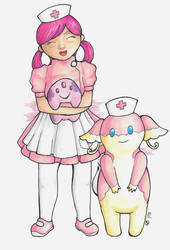 Pokemon Pink by lordbatsy