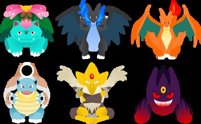 Pokemon Mega Evolutions 1