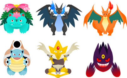 Pokemon Mega Evolutions 1 by lordbatsy