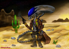 Alien Vs Predator Frontier by ChristoMan