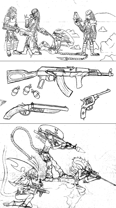Sketch Dump March (2015) by ChristoMan