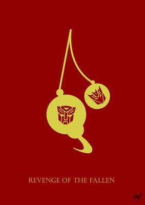 Transformers 2 Minimal Poster