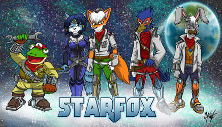 Starfox 20th Anniversary Entry