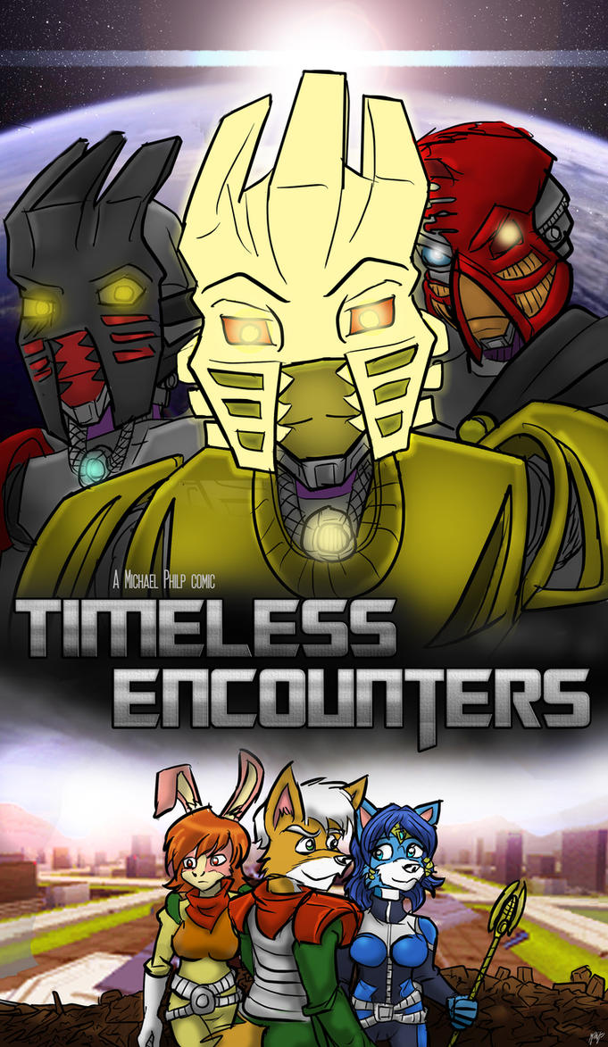 Timeless Encounters Movie Poster spoof by Micgrol