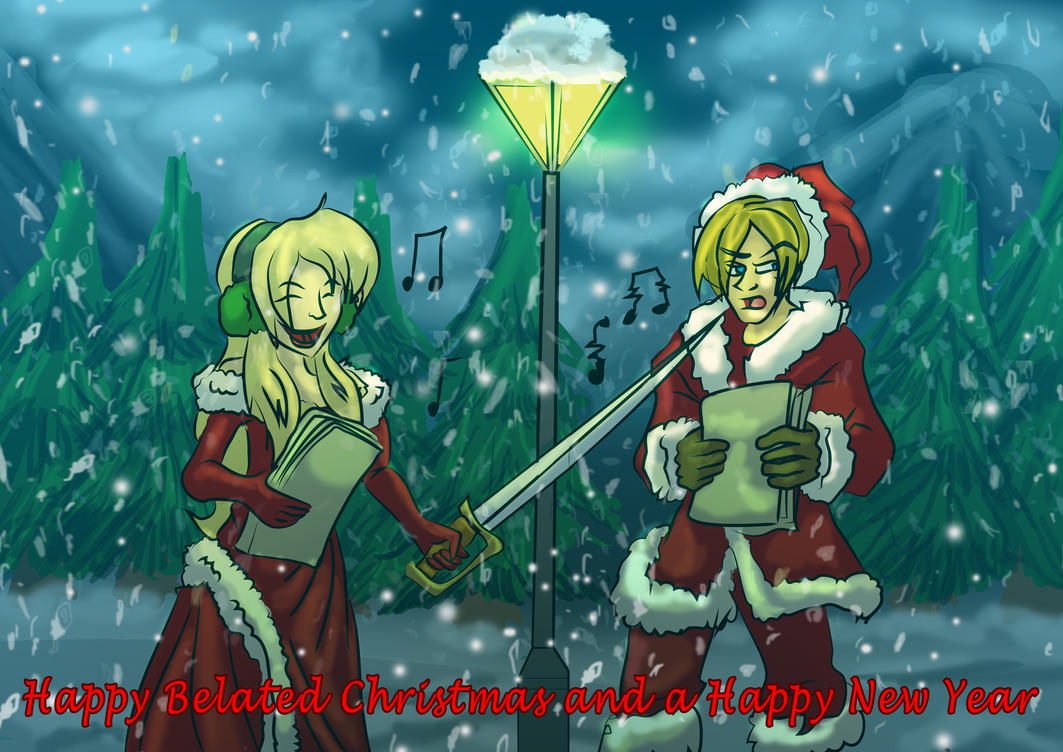 John and Cassandra's White Christmas by Micgrol